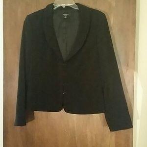 Ann Taylor Black Jacket Size 12 petite